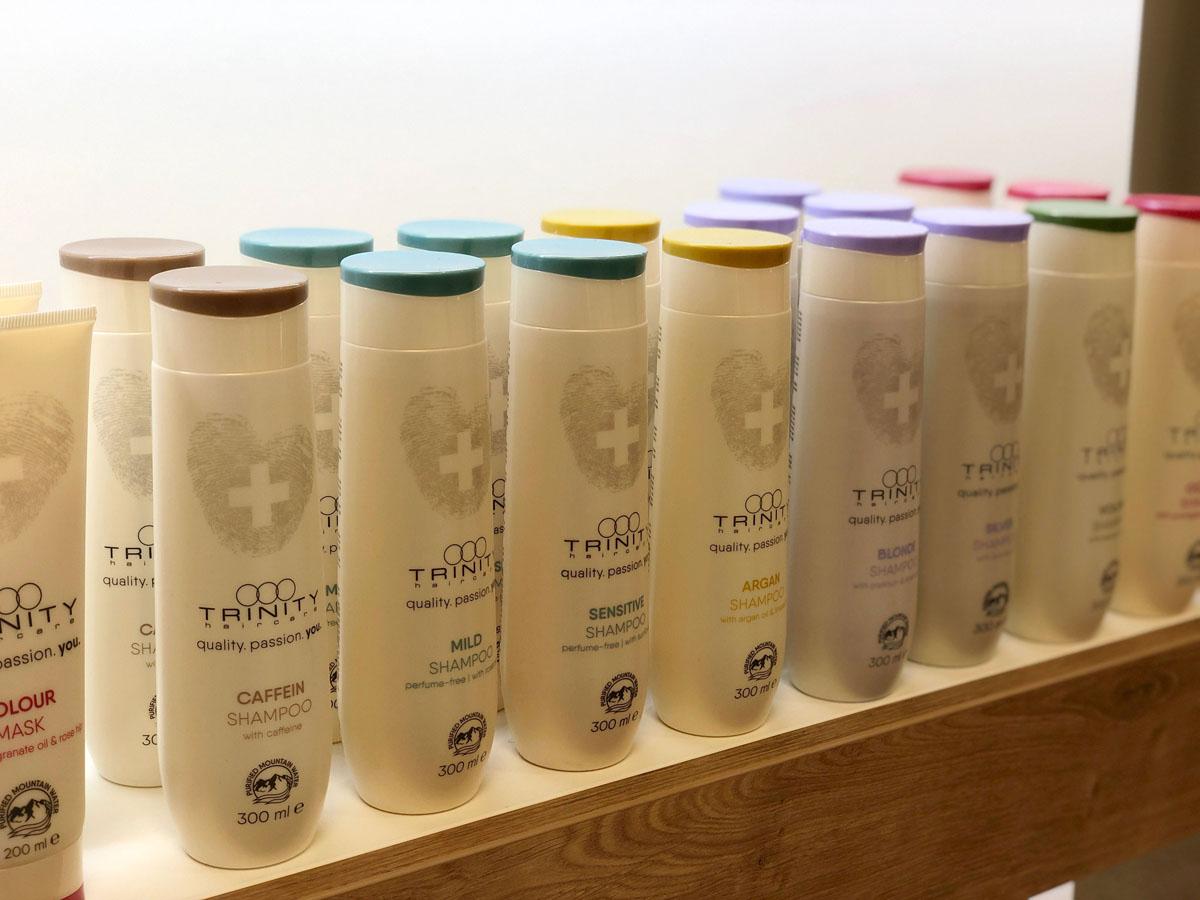 TRINITY haircare Produkte | Haar-Team Hallwang